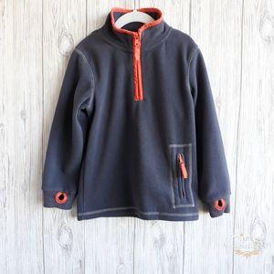Mini Boden Fleece Sweater  Size 5-6 Y